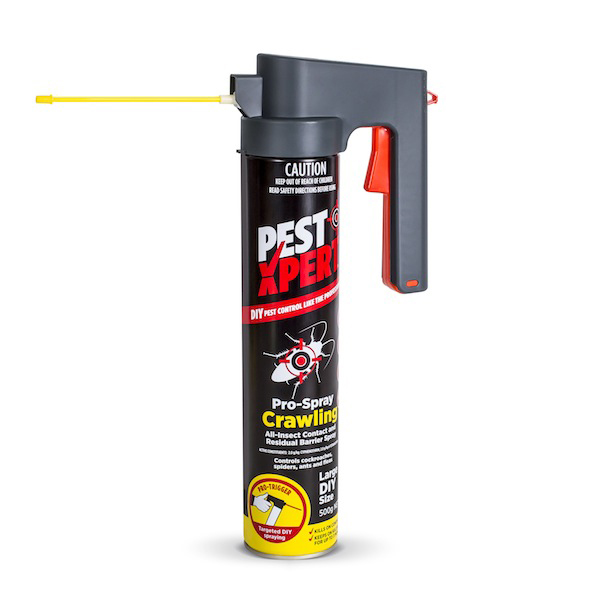 PestXpert Pro-Spray Crawling has a 360º valve for upside down spraying